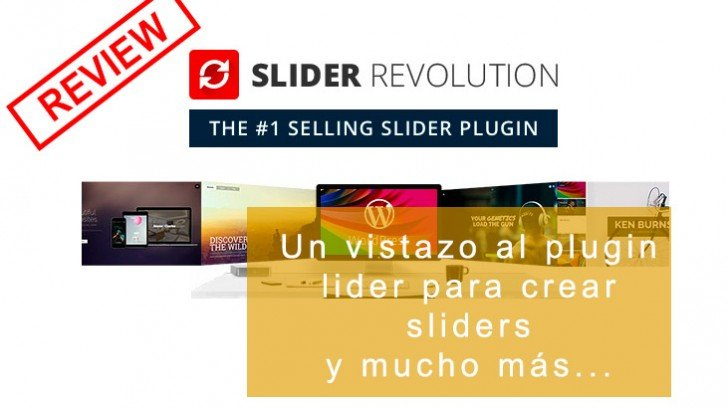 Slider Revolution plugin WordPress |Review ⋆ Sensacionweb com