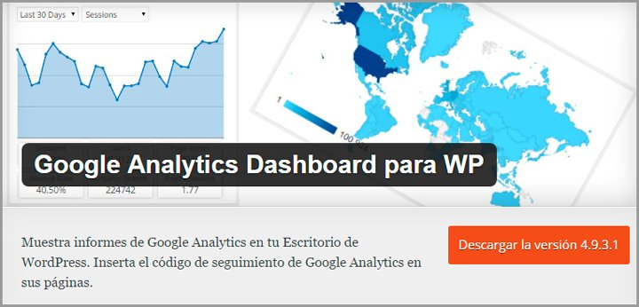 analytics para wordpress