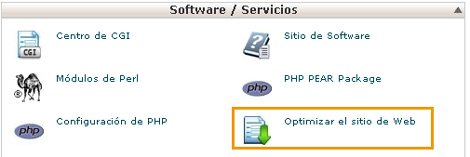 optimizar-web-cpanel
