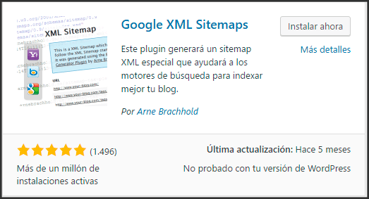 tutorial-descargar-google-xml-sitemap-repositorio-de-wordpress