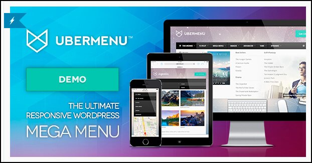 ubermenu plugin wordpress mega menu