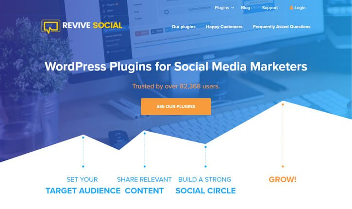 revive social pagina web