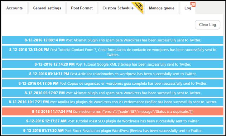registro de revive old post pro plugin wordpress