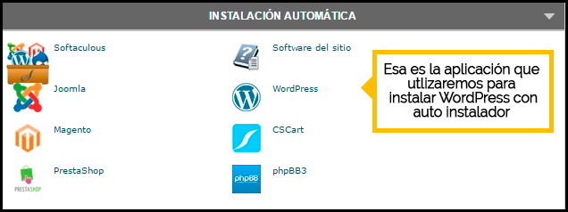 autoinstalar wordpress