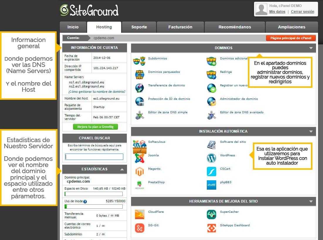 como-instalar-wordpress-cpanel-siteground