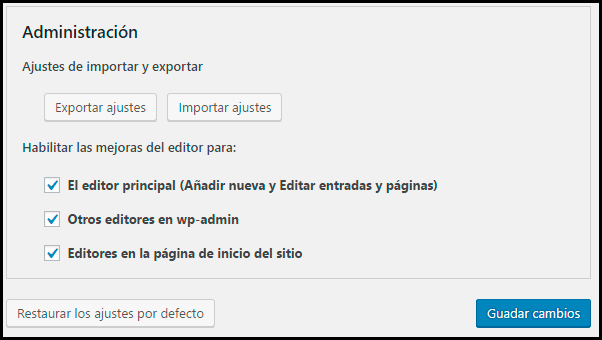 Editor de Texto Avanzado en WordPress | TinyMCE Advanced ...