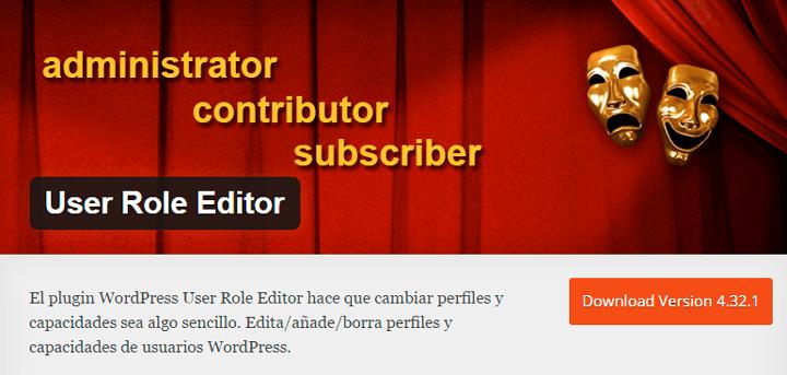 user rol editor crear usuarios en wordpress
