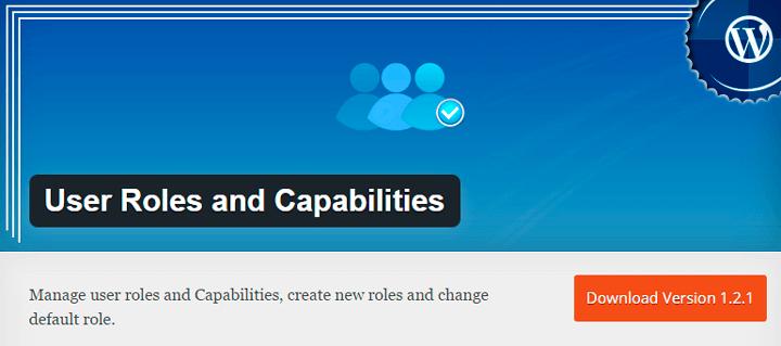 roles de usuario en wordpress plugin user roles and capabilities