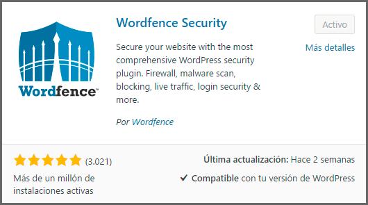 como instalar wordfence