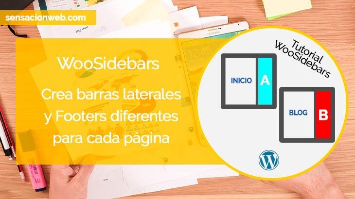 Tutorial WooSidebars | Crea barras laterales personalizadas por páginas