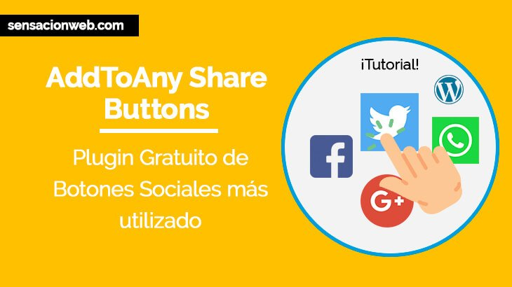 Como configurar AddToAny Share Buttons en WordPress