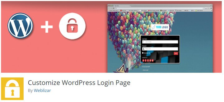 personalizar el login de wordpress custom admin login