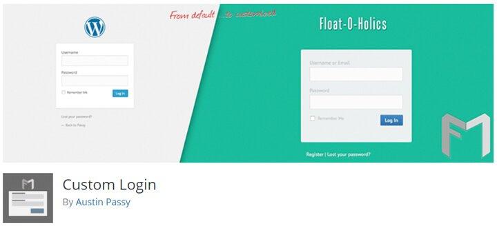 personalizar el login de wordpress custom login