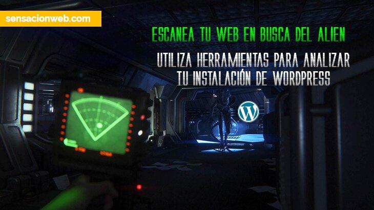analizar archivos de wordpress