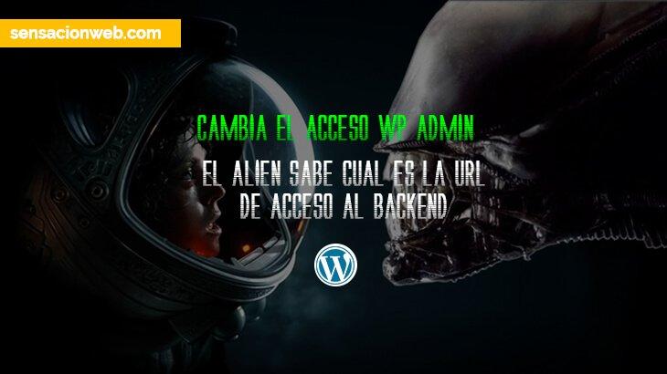 cambiar la url wp admin de acceso de wordpress