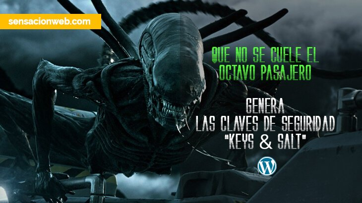 claves de seguridad keys salt de wordpress