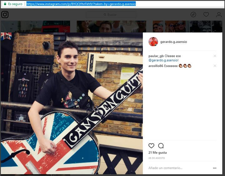 integracion de instagram en wordpress