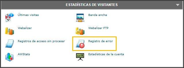 ver error 500 internal server error en el servidor