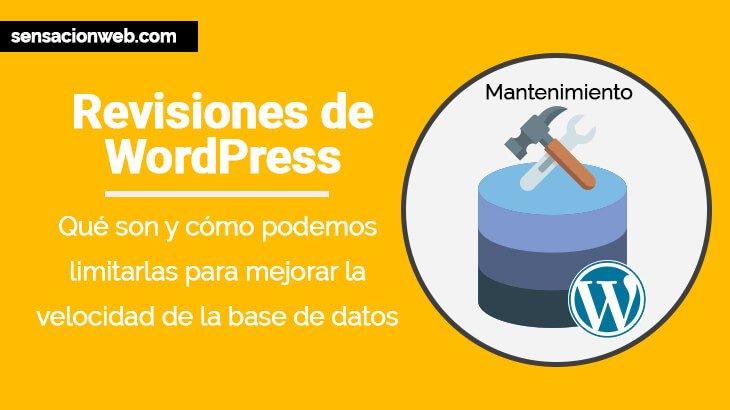 Revisiones de WordPress