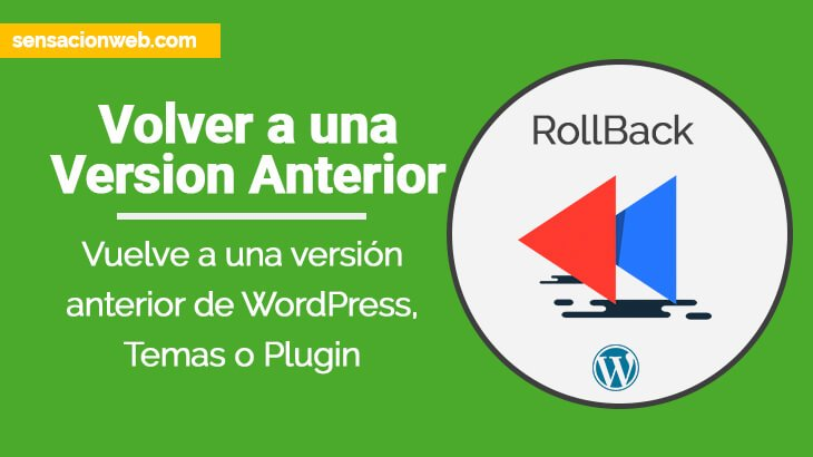 instalar version anterior de wordpress