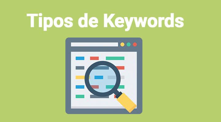 tipos de keyword palabras clave