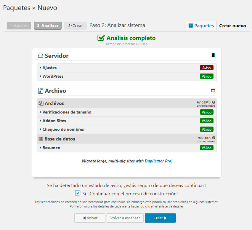 duplicator tutorial para migrar wordpress