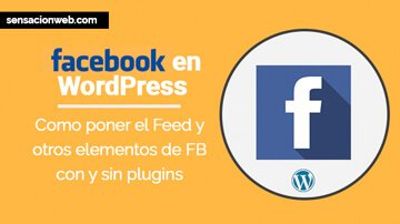 tutorial para poner facebook en wordpress