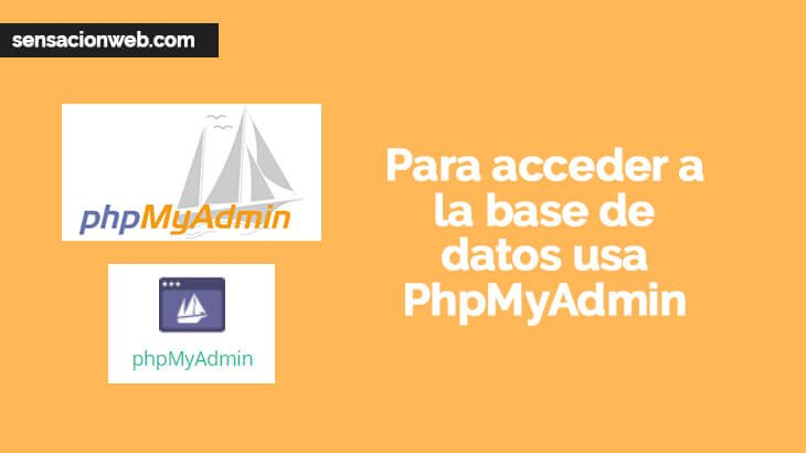 acceder a la base de datos de wordpress