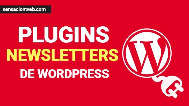 los mejores plugin de newsletters