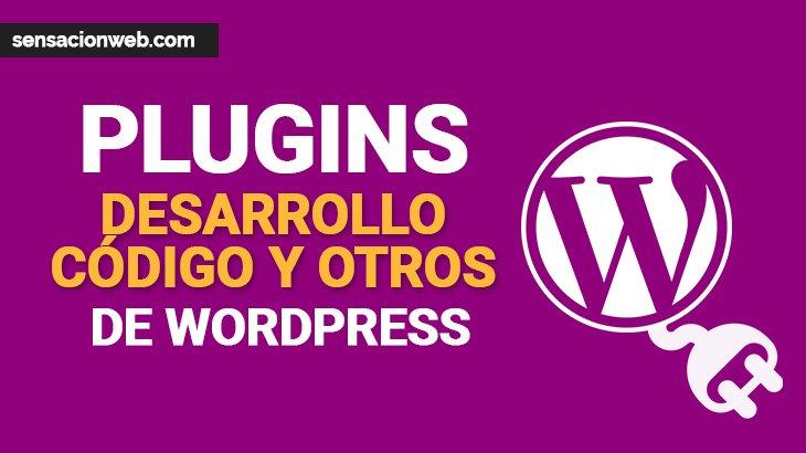 plugins de desarrollo web