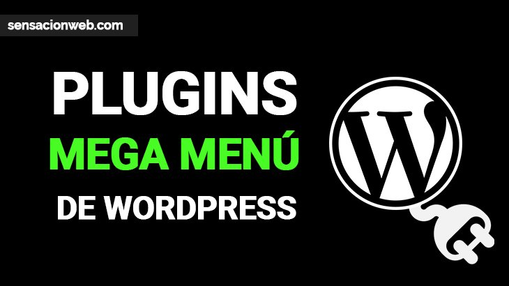 plugins de menú para wordpress