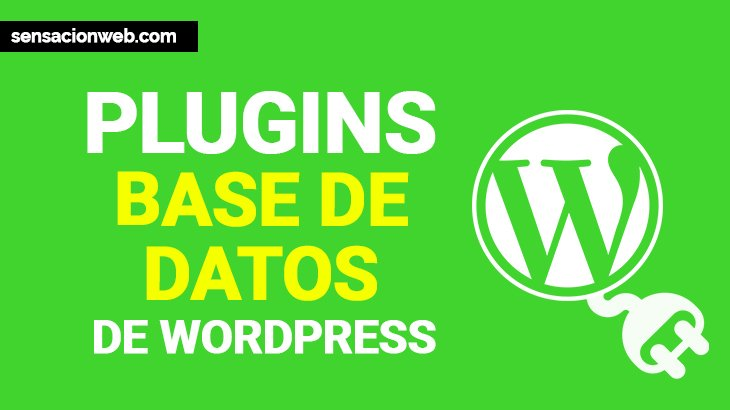 plugins para bases de datos de wordpress