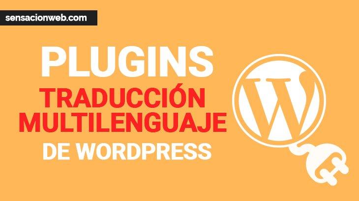plugins traducción y multilenguaje