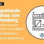 crear una página web con gutenberg