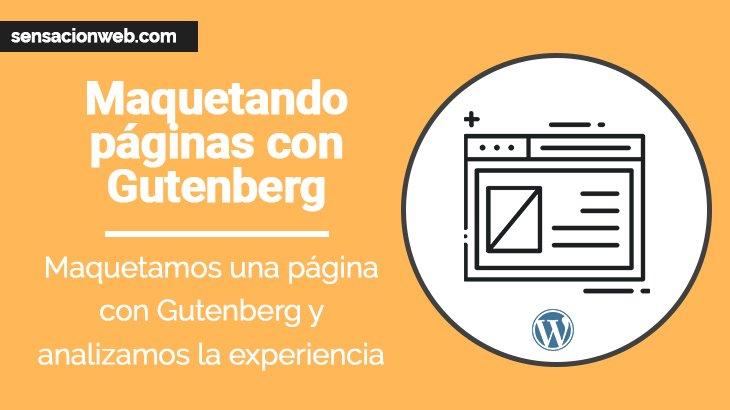 Diseñando una página web con Gutenberg