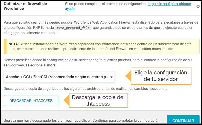 configurar waf firewall web