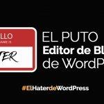 fallos en el editor de bloques de wordpress